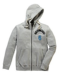 Jacamo Oakland Full Zip Hooded Top Reg