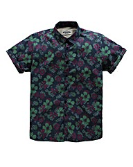 Jacamo Havana Printed Shirt Long