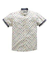 Jacamo Marsden S/S Printed Shirt Regular