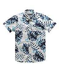 Jacamo S/S Liberty Print Shirt Long