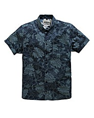 Jacamo S/S Pacific Print Shirt Long