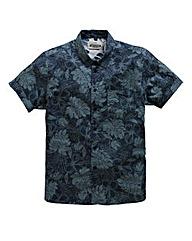 Jacamo S/S Pacific Print Shirt Long