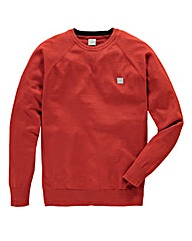 Bench Placid Brick Red Crew Neck Knit