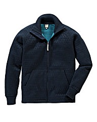 Bench Interlock Dark Navy Knitted Fleece