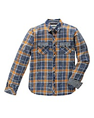 Jacamo Jayden L/S Check Shirt Long