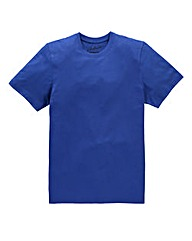Jacamo Cobalt Dallas Basic Crew Tee Long