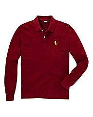 Jacamo Wine L/S Griffin Polo Regular