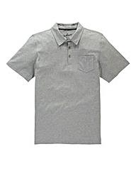 Jacamo Grey M Austin Jersey Polo Shirt L