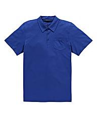Jacamo Cobalt Austin Jersey Polo Shirt L