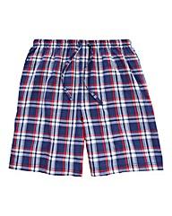 Southbay Poplin Check Lounge Shorts
