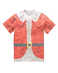 Label J Santa Tee Long