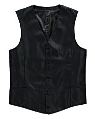 Black Label by Jacamo Waistcoat Regular