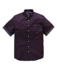 Label J Roma Print Trim Shirt Regular