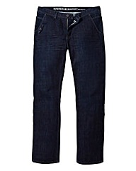 Fenchurch Asphalt Jeans 31in Leg