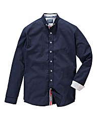 Bewley & Ritch Feland Navy Print Shirt