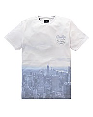 Label J Brooklyn Fade T-Shirt Long
