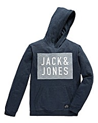 Jack & Jones Rider Navy Hooded Sweat