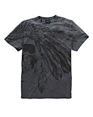 Label J Headdress T-Shirt Long