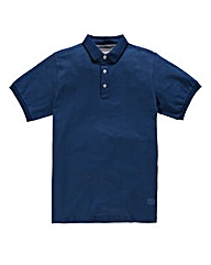 Flintoff by Jacamo Tipped Polo Long