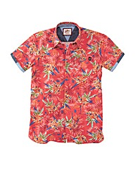 Joe Browns Bright Print Floral Shirt Reg