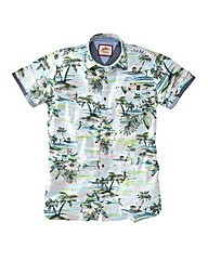 Joe Browns Beachscape Print Shirt Long
