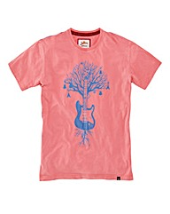 Joe Browns Guitar Tree Graphic Tee Reg