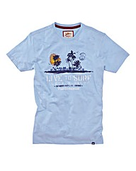 Joe Browns Live To Surf Marl Tee Reg