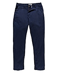 Jacamo Navy Stretch Tapered Chino 33in