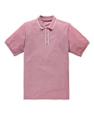 Jacamo Aransas Piped Placket Polo Regula