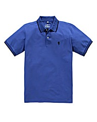 Jacamo Cobalt Tipped Polo Long