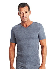 Premier Man Thermal S/S V-Neck T-Shirt