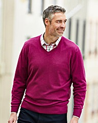 WILLIAMS & BROWN Merino Wool Mix Jumper