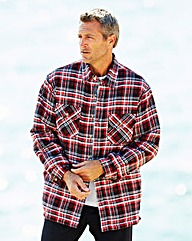 Premier Man Quilt Lined Check Shirt