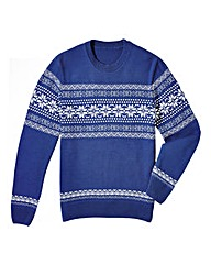 Southbay Crew Neck Snowflake Jumper