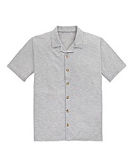 Southbay Rever Collar Pique Shirt