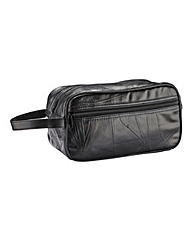 Southbay Leather Washbag