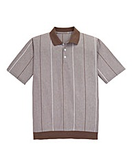 Premier Man Ribbed Hem Polo Shirt