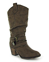 Rocket Dog Sidestep Calf Boot