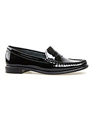 Hampden Black Patent Loafer