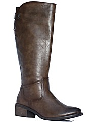 Strawberry Zip Detail Riding Boot
