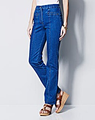 MAGISCULPT Straight Leg Jean Regular
