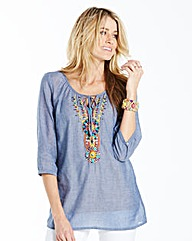 Gypsy Denim Top