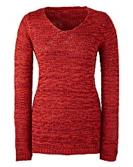 Knitted Sequined Jumper