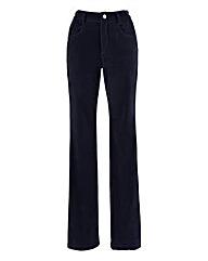 Velvet Bootcut Jean Extra Short