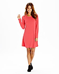 Plain Skater Tunic Dress