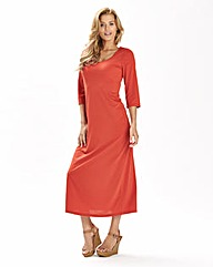 Jersey Plain Dress 50in