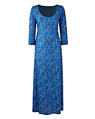 Jersey Print Dress 50in