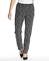 Print Trouser Length Long