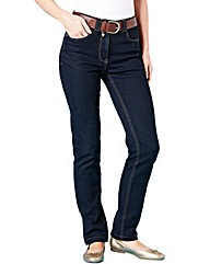 Elle Straight Leg Jeans Length 31in