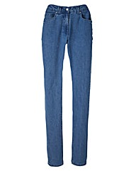 Elle Straight Leg Jeans Length 25in